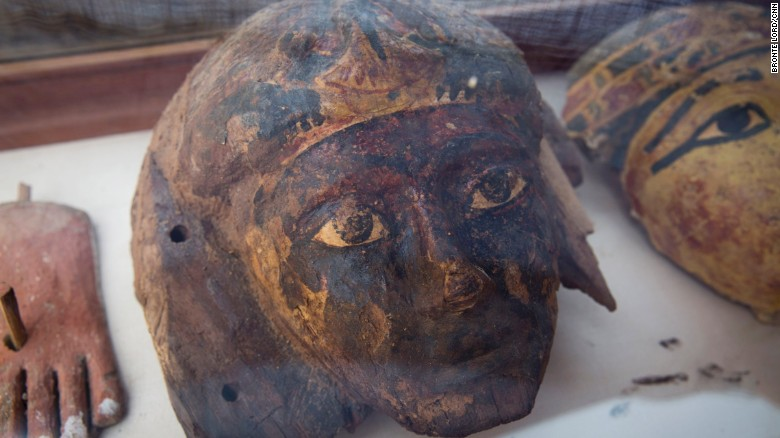 Dra'Abou el-Naga, Septembre 2017, Amenemhat orfèvre du netjer Amon, en Egypte ancienne.