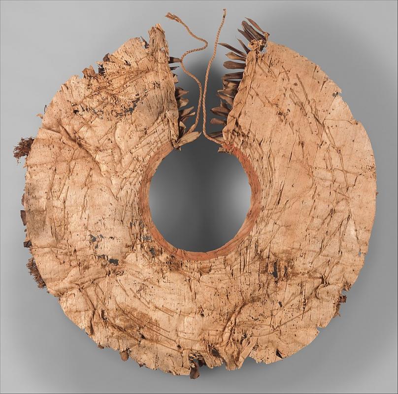 Floral collar from tutankhamun s embalming cache met dp274362