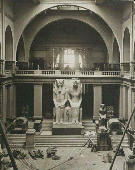 Marc orriols llonch egyptologist le musee egyptien du caire pendant sa construction 1901