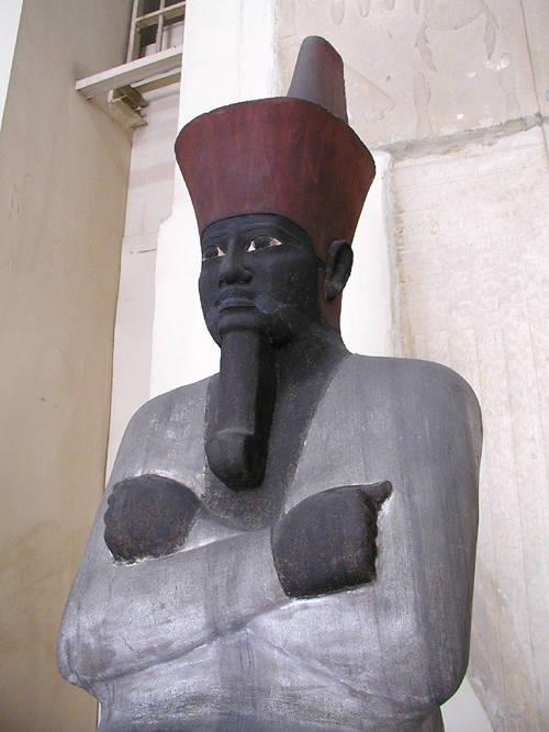Mentuhotep seated