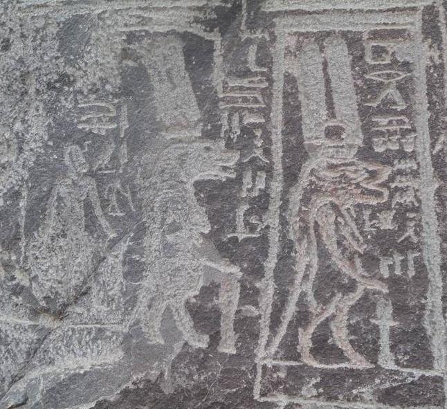 Ouadi hammamat deux representations de la deesse thoueris