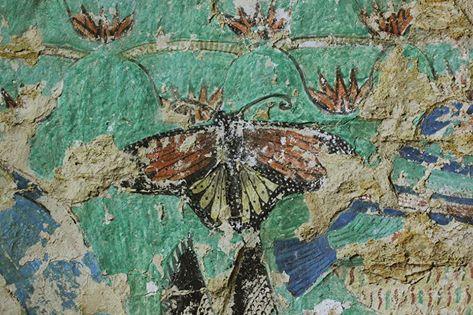 Papillons  en Égypte ancienne.