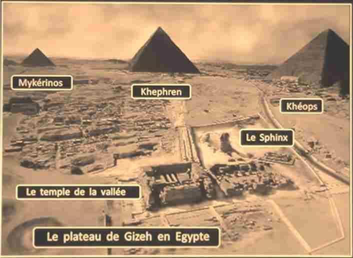 Pyramides de gizeh mykerinos khephren kheops astuce
