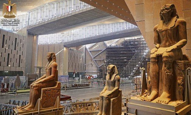 Quatre artefacts que vous ne verrez que dans le grand musee egyptien