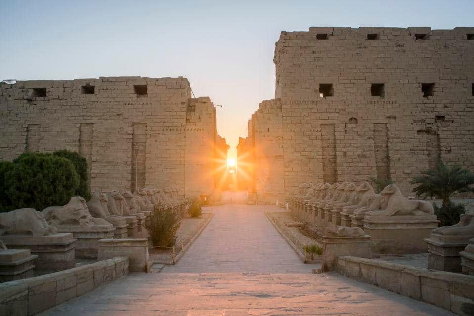 Solstice d hiver à karnak copy Eman Bahaa le 21122019