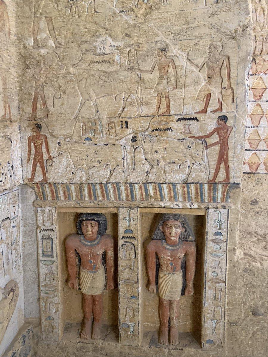 Stephane romatet saqqara une splendide tombe de la veme dynastie