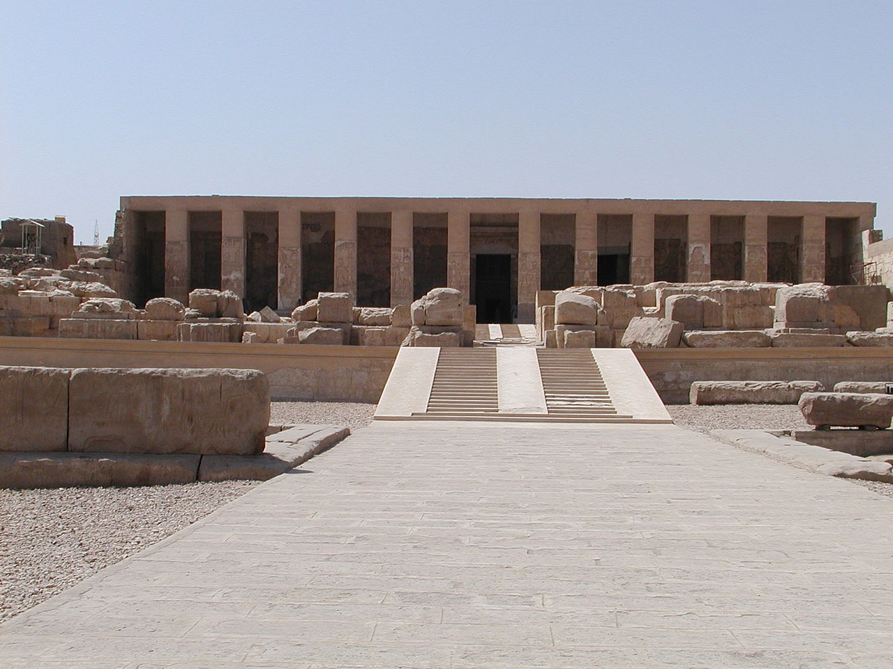 Temple d abydos