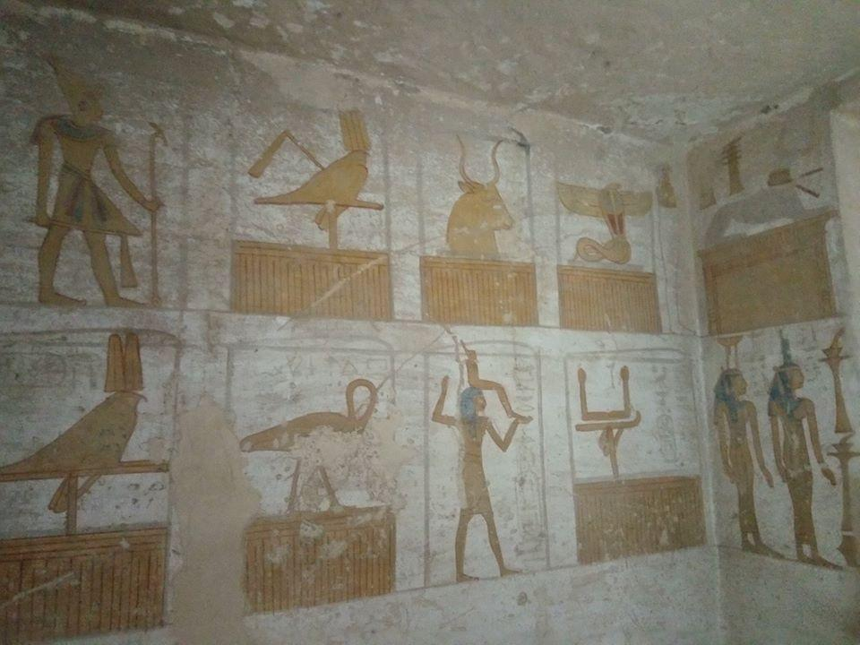 Unfinished tomb of seti ii valley of the kings luxor west bank