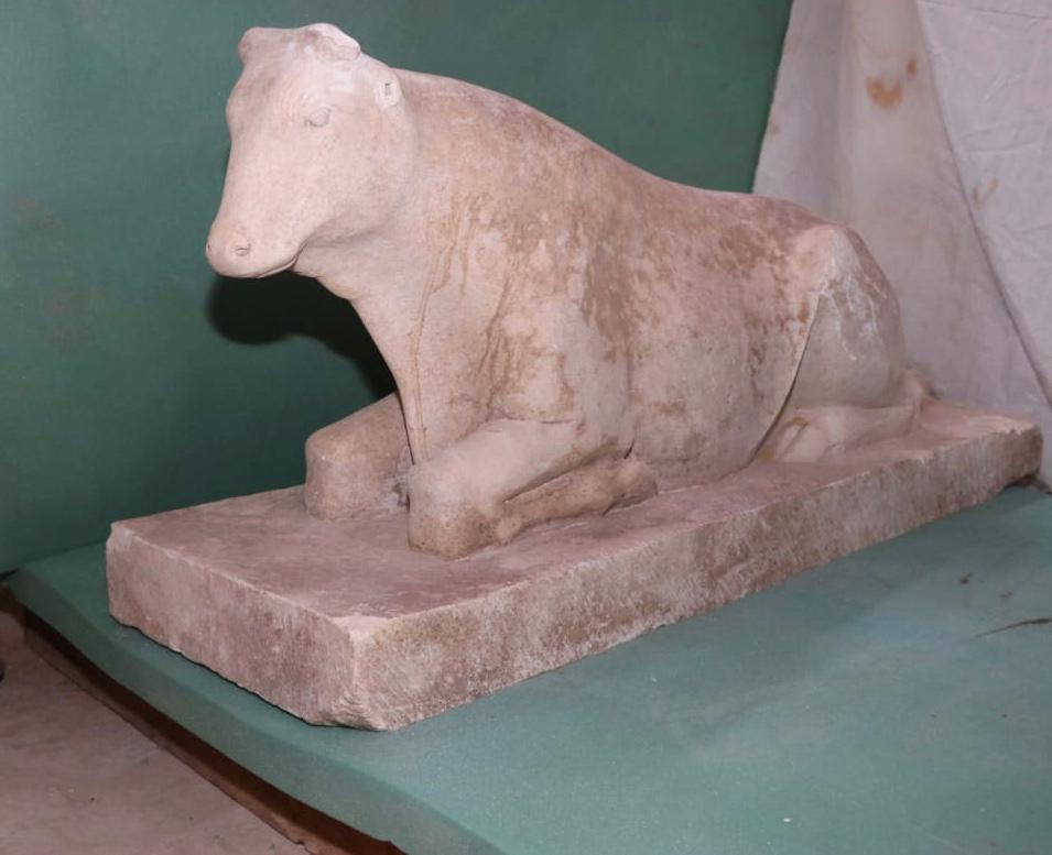 Veau apis ancien superviseur du tresor royal dans le gouvernorat de minya tomb of badi est